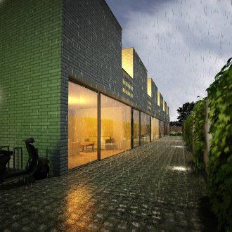 Hofjeswoningen Goudenregenstraat Den Haag