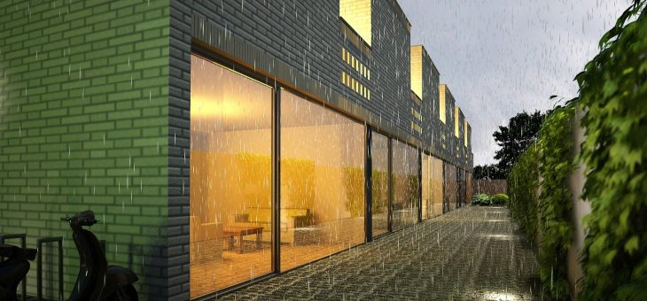 Transformation to Courtyard Homes The Hague