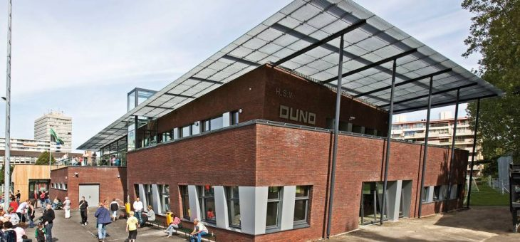 Clubgebouw vv DUNO en Haagsche Dynamiek in Den Haag