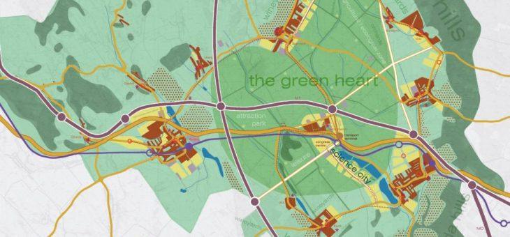 Regional  stedenbouwkundig plan voor Talentisgebied ten westen van Budapest
