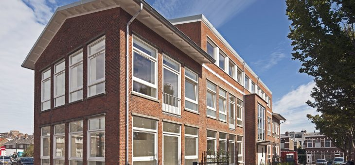 Transformation Dr de Visserschool to apartments The Hague