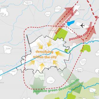 Masterplan voor de stad Timisoara in Roemenië