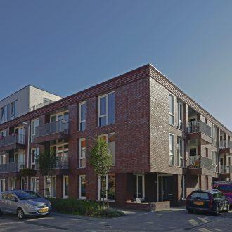 Appartementen en parkeervoorziening in Ondiep in Utrecht