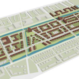 Stedenbouwkundig plan voor 400 woningen Wilderszijde in Lansingerland