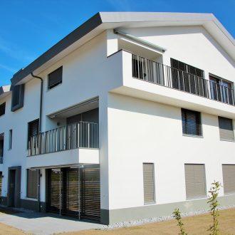 Appartementen en parkeergarage in Chatonnaye in Zwitserland