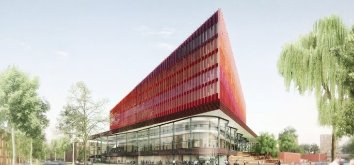 Gerechtsgebouw voor Rechtbank, OM en Raad van Kinderbescherming Breda