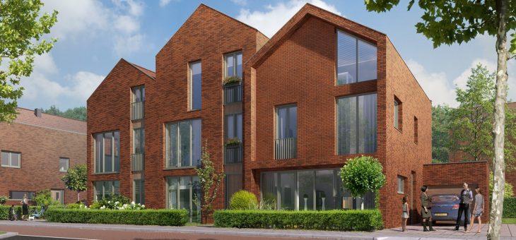 25 mei 2016 start bouw 48 woningen in Vijfhuizen