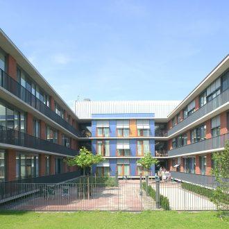 Gebouw voor ouderenpsychiatrie voor Parnassia in Den Haag