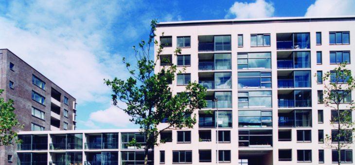 Appartementen, showrooms en parkeergarage aan de Vrijheidslaan te Leiden