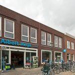 Albert Heijn in Weesp in een historische omgeving