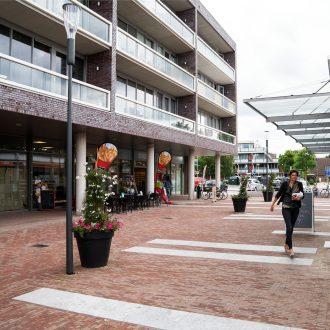 Winkelcentrum de Balken, wijkcentrum Malbak en woningen de Bijvanck Blaricum