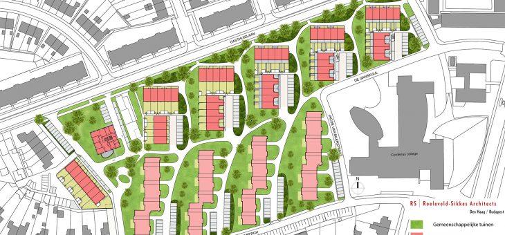 Redevelopment housingproject de Ganskuijl Amersfoort