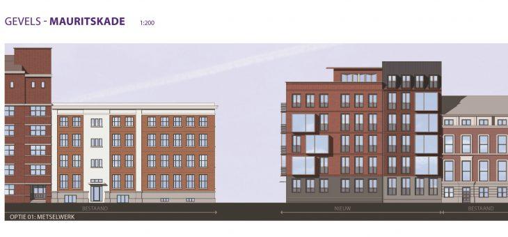 Appartementen Mauritskade 35 te Den Haag