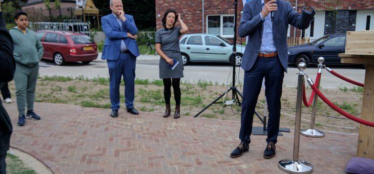 Ingebruikname woningbouwproject de Ganskuijl te Amersfoort