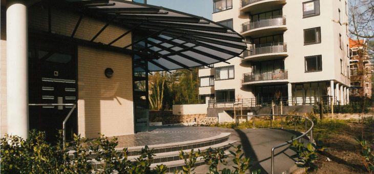 Appartementen aan de Borweg in Den Haag