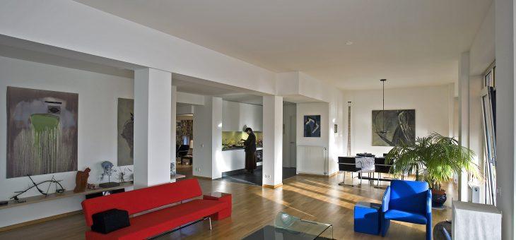 Penthouse in voormalig kantoorgebouw – Den Haag