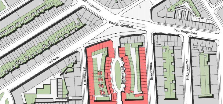 Woningen en supermarkt Paul Krugerplein Den Haag