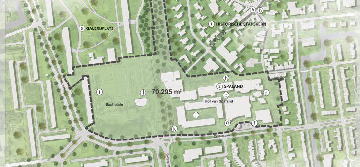 Gebiedsontwikkeling Bachplein Hof van Spaland Schiedam
